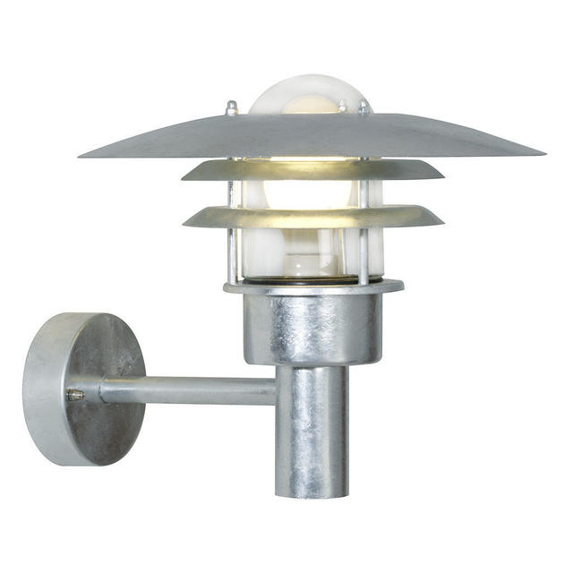 Nordlux Lonstrup 32 71411031 Galvanised Outdoor Wall Light