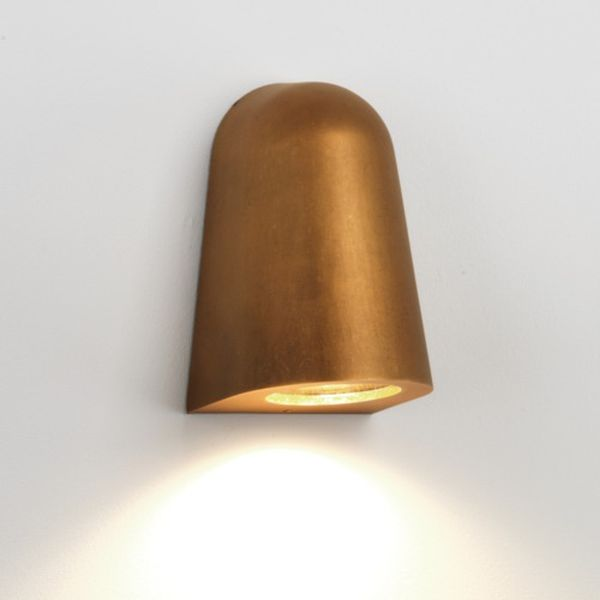 7836 astro lighting mast light antique brass outdoor lighting