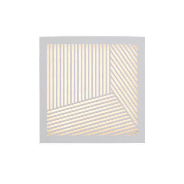 Nordlux Maze Straight White 46871001 Outdoor Wall Light