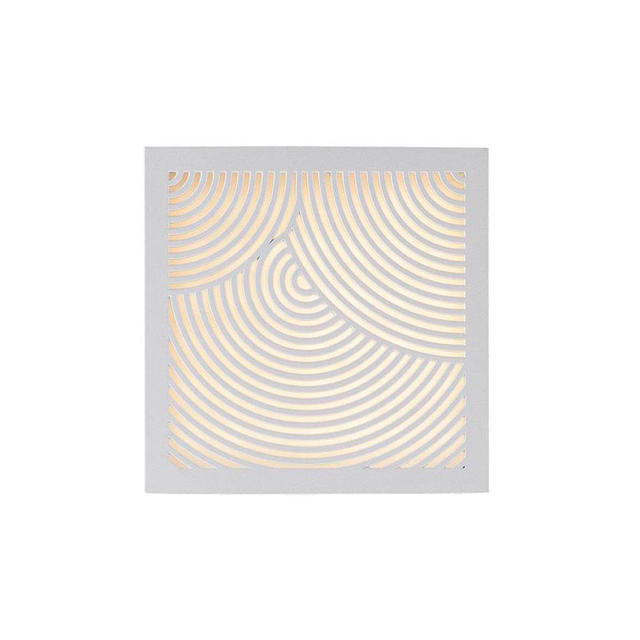 Nordlux Maze White Bended 46881001 Outdoor Wall Light