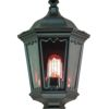 Elstead Medstead MD7 Black Outdoor Half Lantern