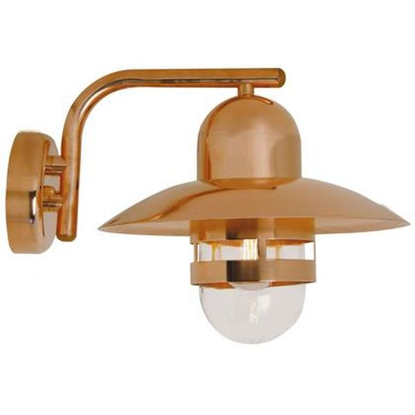 Nordlux nibe copper 24981030 outdoor wall light exterior nordlux nibe copper wall lightnl067 mozeypictures Image collections