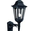 Elstead Parish PR1 Black Up Wall Lantern