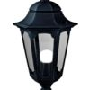 Elstead Parish PR4 Black Pedestal Lantern