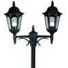 Elstead Parish PR8 Exterior Black Twin Lamp Post