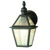Elstead POLRUAN Black Outdoor Wall Lantern