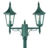 Elstead Norlys Rimini R6 ART.402 Exterior Twin Lamp Post