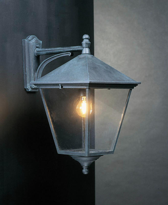 Buy Turin Grande Outdoor Pedestal Lanterns By Norlys: Elstead TG2 Turin Grande Drop Down Wall Lantern
