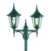Elstead Norlys Valencia V6 ART.302 Exterior Twin Lamp Post