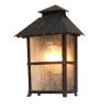 Elstead Wadebridge WB7 Exterior Half Lantern in Rust Finish