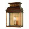 Elstead WESTMINSTER BR Outdoor Brass Wall Lantern