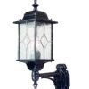 Elstead Wexford WX1 Outdoor Leaded Wall Lantern
