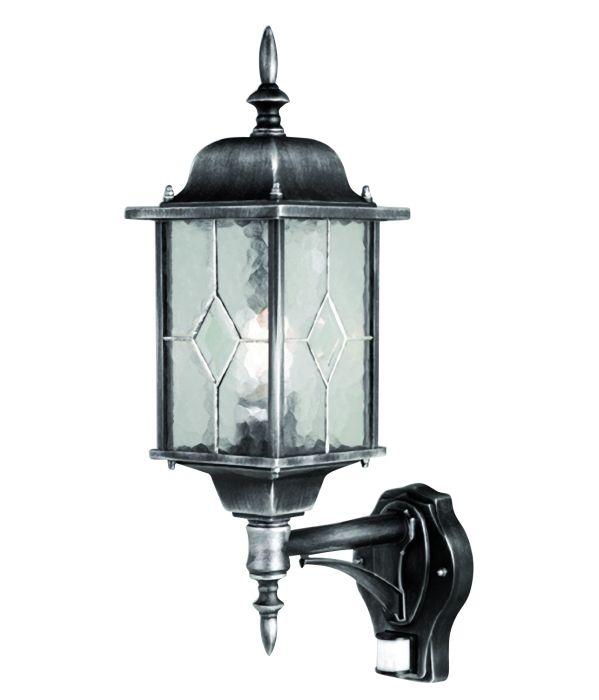 Elstead Wexford Wx1 Pir Elstead Traditional Outdoor Lantern With Pir Sensor Outdoor Lighting Centre