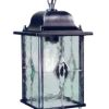 Elstead Wexford WX9 Black/Silver Hanging Chain Lantern
