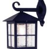 Elstead Winchester BL18 Black Outdoor Wall Lantern