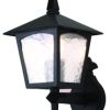 Elstead York BL5 Outdoor Black Wall Lantern