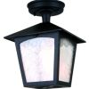 Elstead York BL6A Outdoor Black Coach Lantern
