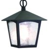 Elstead York Black Hanging Lantern