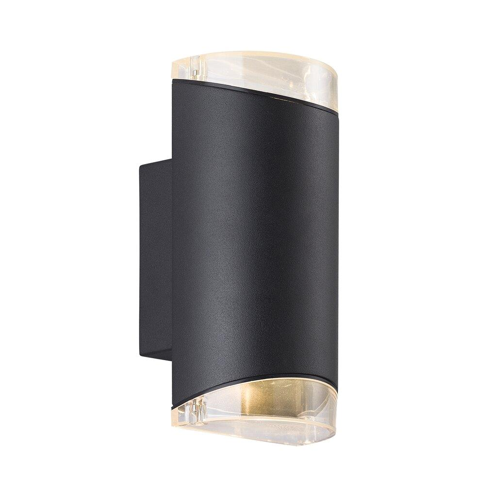 Nordlux Arn Twin Black 45481003 Outdoor Wall Light