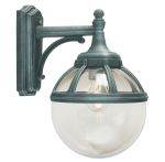 Elstead Bologna B2 Drop Down Globe Wall Lantern