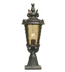 Elstead Baltimore BT3/M Medium Outside Pedestal Lantern