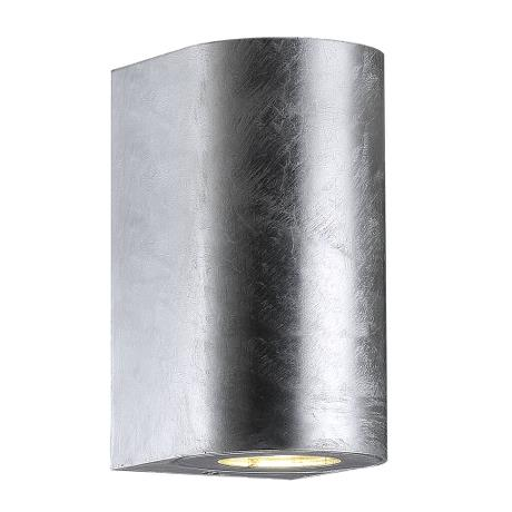 Nordlux Canto Maxi 2 Galvanised 49721031 Outdoor Wall Light