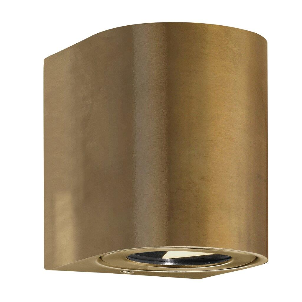 Nordlux Canto 2 Brass 49701035 Up/Down LED Wall Light