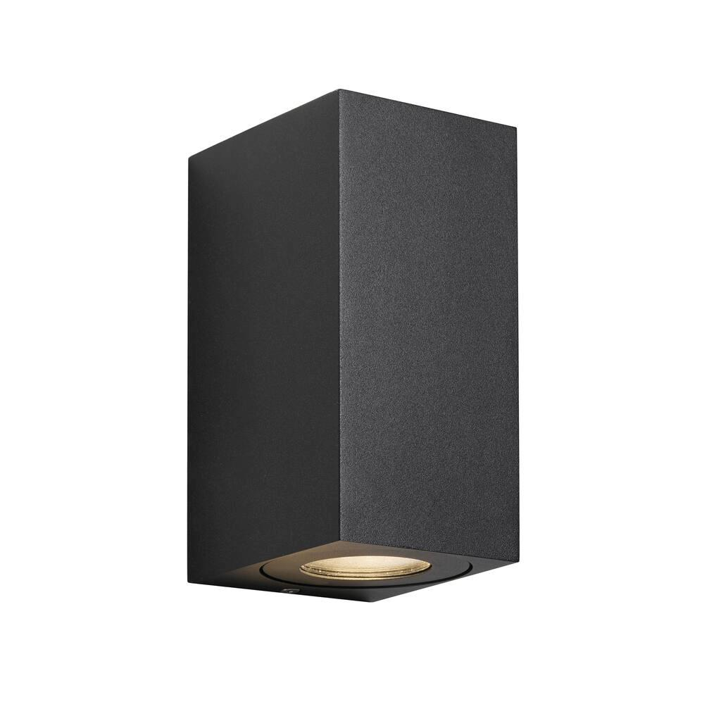 Nordlux Canto Maxi Kubi 2 Black 49731003 Up/Down Wall Light