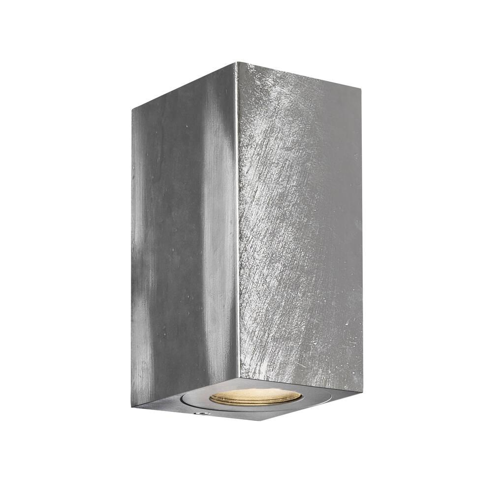 Nordlux Canto Maxi Kubi 2 Galvanized 49731031 Wall Light