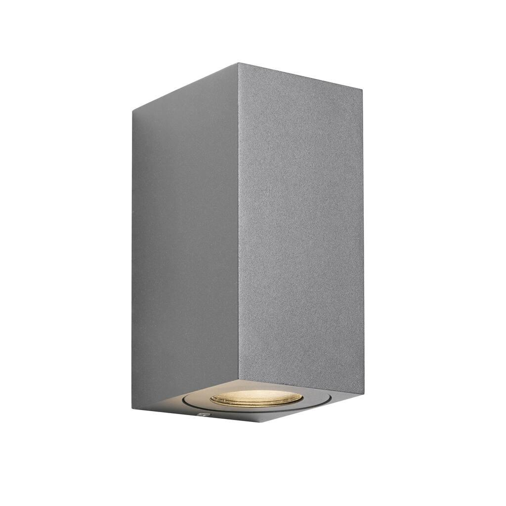 Nordlux Canto Maxi Kubi 2 Grey 49731010 Up/Down Wall Light