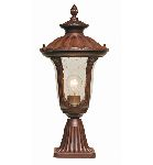 Elstead Chicago Small Pedestal Lantern