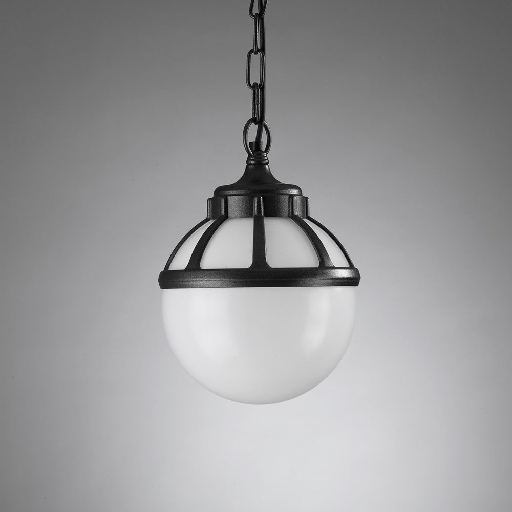 Beautiful Italian Made Napoli Globe Hanging Lantern