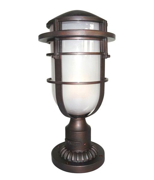 Hinkley Montreal Pedestal Light: Elstead Hinkley Reef Pedestal HK/REEF3 HE/VZ