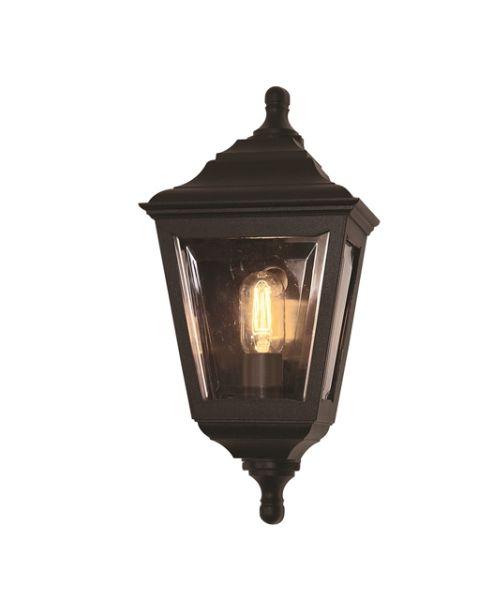 Elstead kerry flush outdoor lighting ip44 black flush wall light elstead kerry flush garden wall mount light2397 aloadofball Gallery