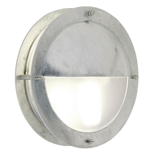 Nordlux Malte Eyelid Galvanized 21841031 Outdoor Wall Light