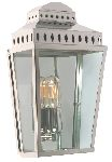 Elstead MANSION HOUSE PN Polished Nickel Exterior Wall Lantern