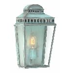 Elstead MANSION HOUSE V Outdoor Wall Lantern in Verdigris