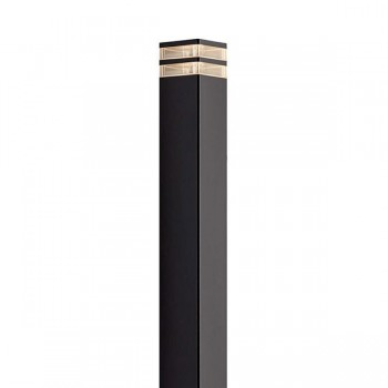 Nordlux Elm Pillar Black 45348003 Outdoor Light