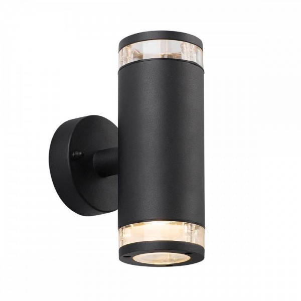 Nordlux Birk Black 45501003 Up/Down Outdoor Wall Light