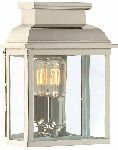 Elstead Old Bailey Polished Nickel Wall Lantern