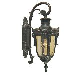 Elstead Philadelphia Small Drop Down Wall Lantern