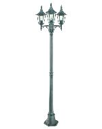 Elstead Norlys Rimini R7 ART.403 Garden Triple Lamp Post