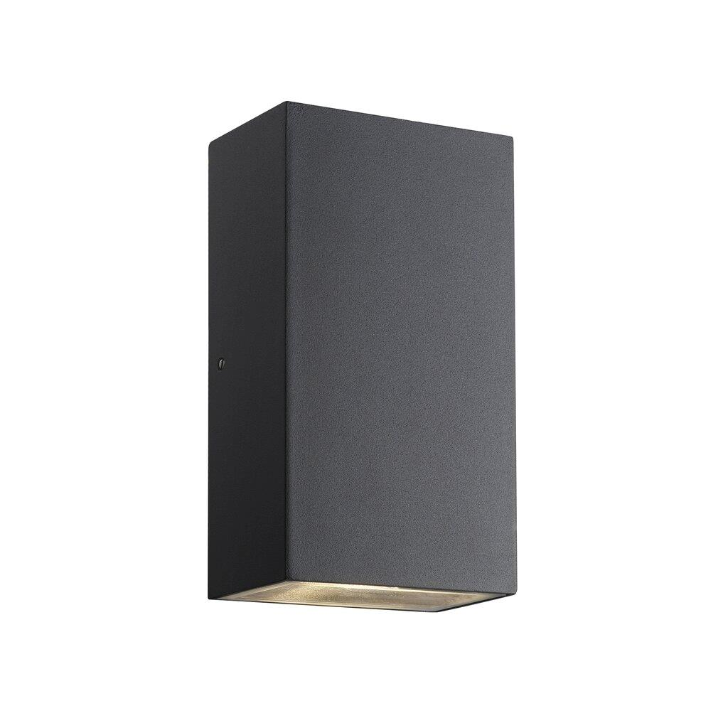 Nordlux Rold Kubi Black 84151003 Outdoor LED Wall Light