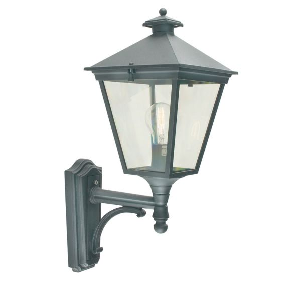 Buy Turin Grande Outdoor Pedestal Lanterns By Norlys: Elstead T1 Turin Wall Lantern