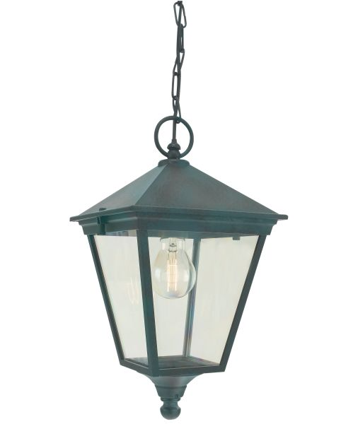 Buy Turin Grande Outdoor Pedestal Lanterns By Norlys: Elstead T8 Turin Chain Lantern