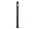 Lutec Large Cylin single LED spotlight post