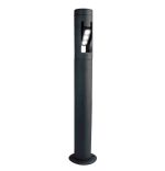 Lutec medium Cylin LED post