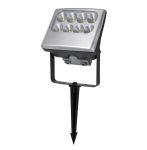 Elstead Lutec Negara UT/NEGARA 6170 Silver Wall/Ground Light